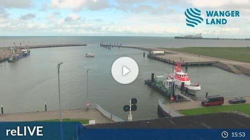 Webcam Außenhafen Hooksiel