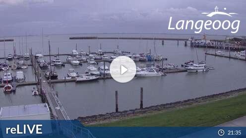 Webcam Sportboothafen Langeoog