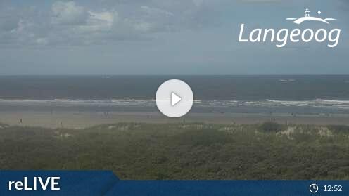 Webcam Hauptstrand Langeoog