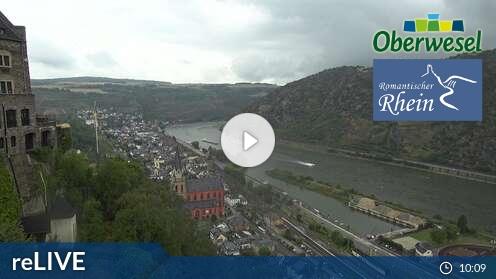 Webcam Oberwesel Schönburg
