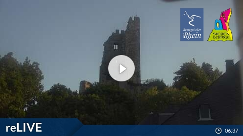 Webcam Königswinter Drachenfels