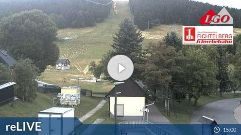 Webcam Blick zum Fichtelberg