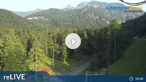Webcam Chiemgau Arena in Ruhpolding