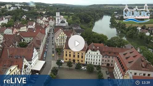 Webcam Hofkirche Neuburg an der Donau