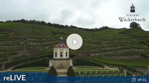 Webcam Schloss Wackerbarth Radebeul