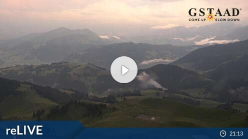 Webkamera Gstaad Mountain Rides