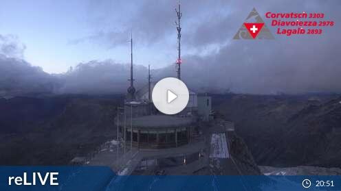 Livecam für Corvatsch - Furtschellas