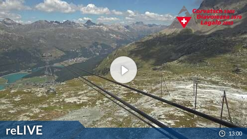 Webcam Mittelstation Murtèl