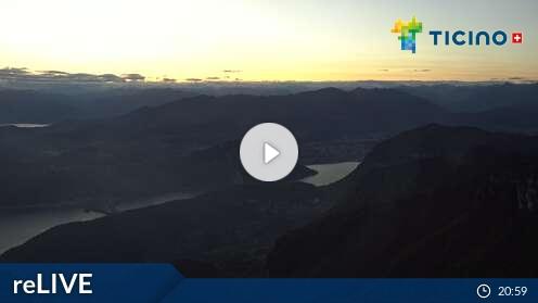 Webcam Capolago - Monte Generoso