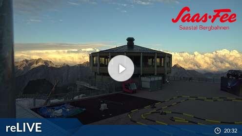 Webkamera Saas Fee - Saas Grund - Saas Almagell