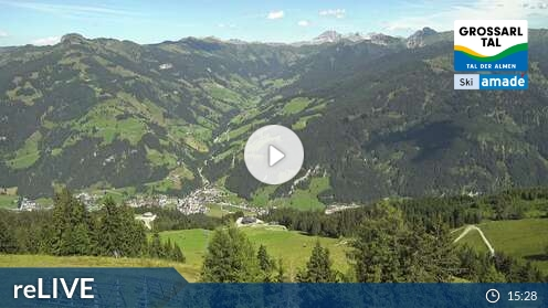 Webcam Großarl - Bergstation 6er Sesselbahn Harbach - 1.790 m