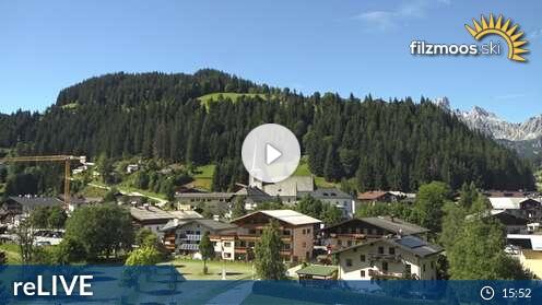 Webcam Filzmoos (Papageno Talstationsgebäude) - Live cam