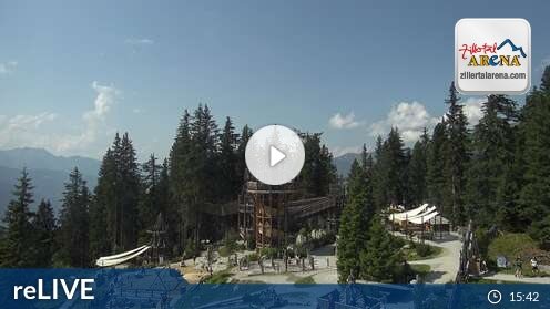 Webcam Zell am Ziller - Fichtenschloss