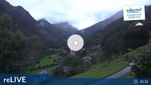 Webcam Blick nach Heiligenblut