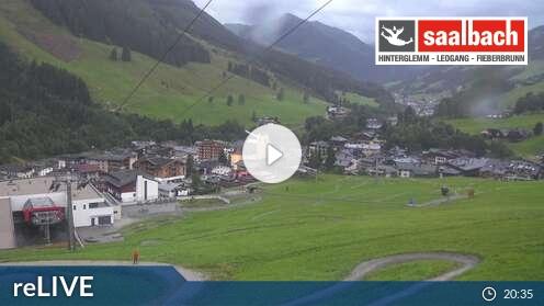 Webcam Saalbach - Kohlmais Tal 1.040 m