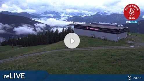 Webcam Eben im Pongau (Popolo 2 Talstation) - Live cam