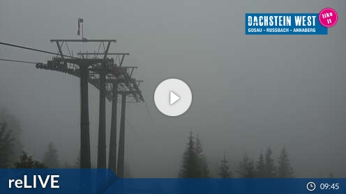 Webcam Dachstein West - Bergstation Hornbahn