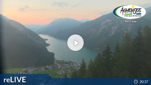 reLIVE Webcam von Pertisau am Achensee