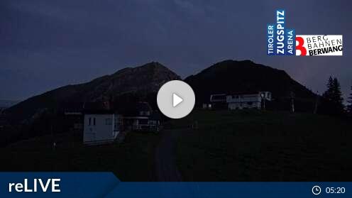 Webcam Berwang (Sonnalmbahn Bergstation 1.622 m)