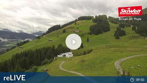 Brixen im Thale - Bergstation Gondelbahn anzeigen