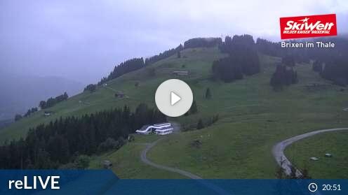Webcam Brixen im Thale - Bergstation Gondelbahn - 1300 m