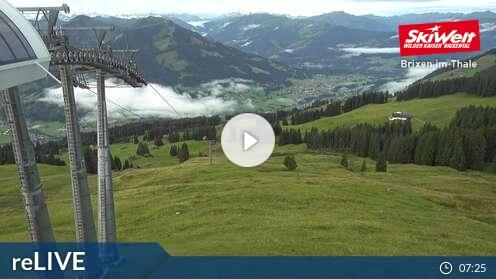 Webcam Brixen im Thale - Jochbahn Bergstation - 1.674 m