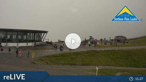 Webcam Fiss - Bergstation Schönjochbahn - 2.436 m