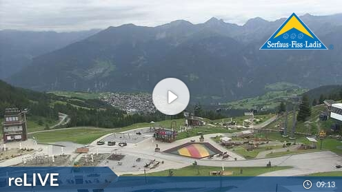 Webcam Fiss - Möseralm - 1.812 m