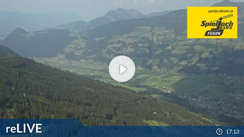 Webcam Fügen - Onkeljoch - 1850 m