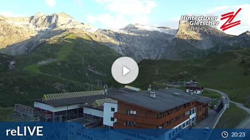 WetterCam für Hintertuxer Gletscher