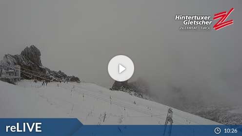 Live-Cam Hintertuxer Gletscher