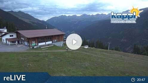 Webcam Kappl Diasbahn Bergstation