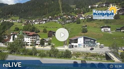 Webcam Kappl - Talstation Bergbahnen Kappl