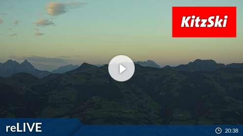 Webcam Kitzbühel (Hahnenkamm 1665 m)