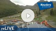 Webcam Nauders - Bergstation Bergkastelseilbahn