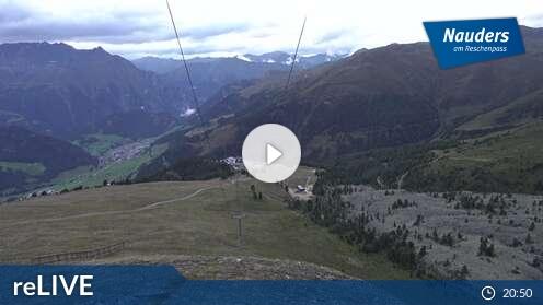 Webcam Nauders - Bergstation Zirmbahn