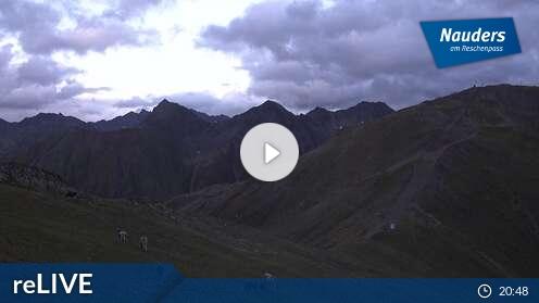 Webcam Nauders - Bergstation Tscheyeck