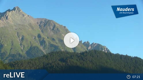 Webcam Nauders - Talstation Mutzkopflift