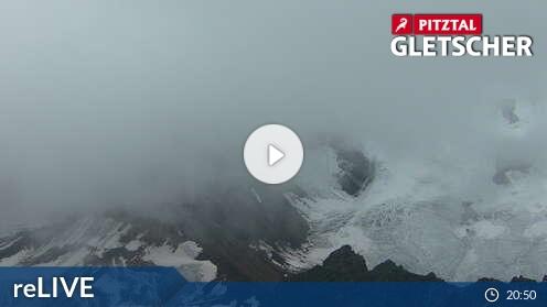 PItztaler Gletscher - das Café anzeigen