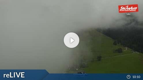 Webcam Söll - Bergstation Gondelbahn Hochsöl - 1.150 m