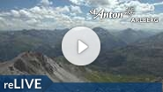 Webcam St. Anton am Arlberg - Valluga