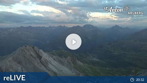 Webcam St. Anton - Valluga - 2.811 m