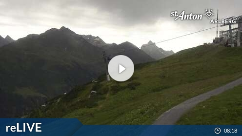Webcam St. Anton am Arlberg - Galzig Bergstation
