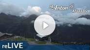 Webcam St. Anton am Arlberg - Gampen