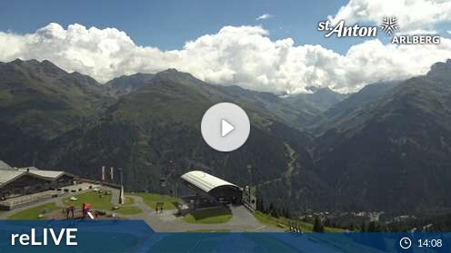 Webcam St. Anton - Gampen - 1860 m