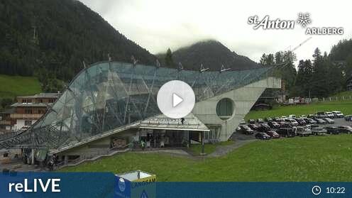 Webcam St. Anton am Arlberg - Skicenter