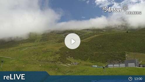 Webcam St. Anton am Arlberg - Rendl Bergstation