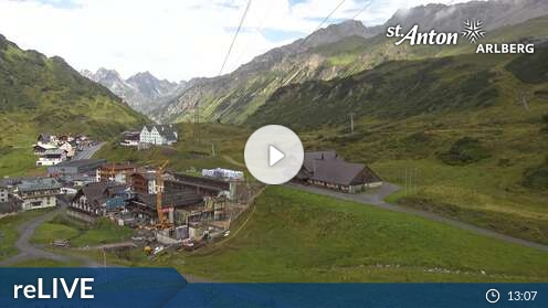 Webcam St. Anton - St. Christoph - 1.770 m