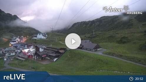 Panorama-Webcam St. Christoph am Arlberg