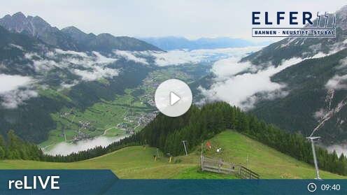 Livecam für Hochstubai-11er-Lifte Neustift